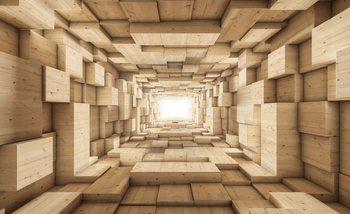 Modern Abstract Design 3D Fototapet