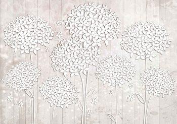 Pattern Flowers Fototapet