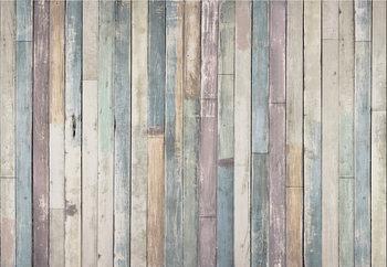 Wooden Wall Fototapet
