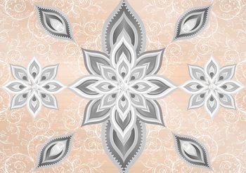 Abstract Pattern Silver Gold Tapéta, Fotótapéta
