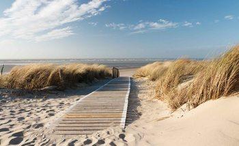 Beach Scene Fali tapéta