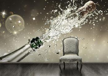 Champagne Fali tapéta