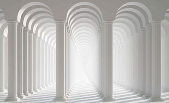 Columns Passage Fali tapéta