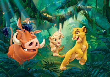 Disney Lion King Pumba Simba Fali tapéta