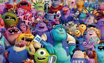 Disney Monsters Inc Fali tapéta