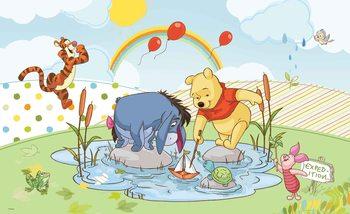 Disney Winnie Pooh Piglet Tigger Eeyore Tapéta, Fotótapéta