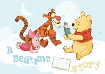 Disney Winnie Pooh Piglet Tigger Fali tapéta