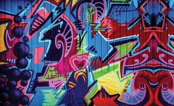 Graffiti Street Art Fali tapéta