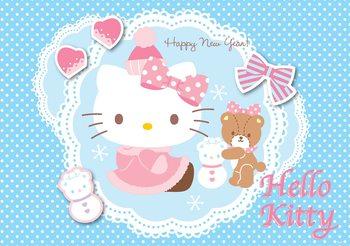Hello Kitty Tapéta, Fotótapéta