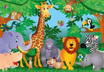 In The Jungle Fali tapéta