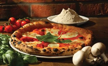 Italian Food Restaurant Tapéta, Fotótapéta