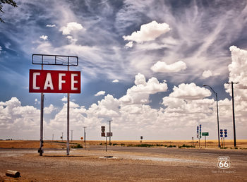 Route 66 - Sky Fali tapéta