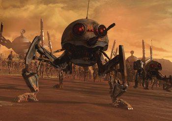 Star Wars DSD1 Dwarf Spider Droid Fali tapéta