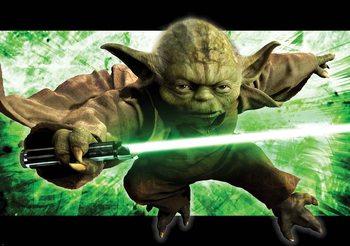 Star Wars Master Yoda Fali tapéta