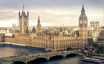 The View Of London Fali tapéta