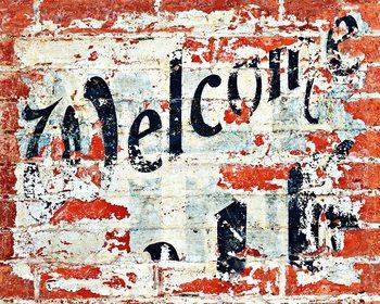 Welcome Fali tapéta