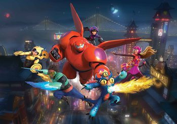 Disney Big Hero 6 Fototapeta