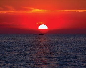 Západ slnka Fototapeta