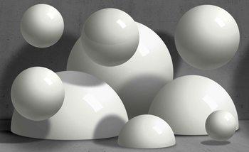Abstrakt Monochrom Modernes Design Fototapete