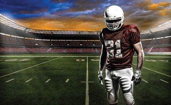 American Football Spieler Fußballstadion Fototapete