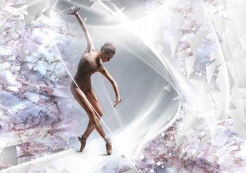 Ballerina Abstrakt Fototapete