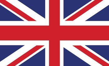 Flagge Großbritannien Fototapete