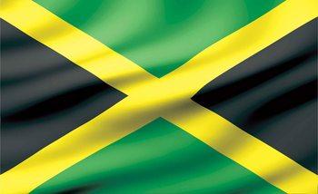 Flagge Jamaica Fototapete