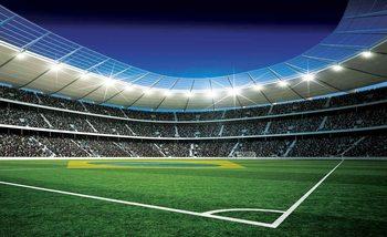 Fußballstadion Fototapete
