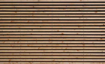 Holzleisten Fototapete