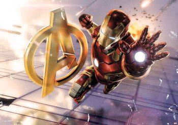 Marvel Avengers Iron Man Fototapete