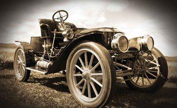 Oldtimer Auto Vintage Fototapete