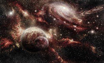 Raum Planeten Fototapete