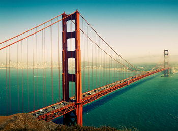 San Francisco - Golden Gate Fototapete