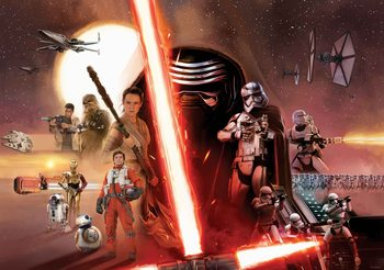 Star Wars Erwachen Macht  Fototapete