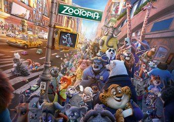 Walt Disney Zoomania Fototapete