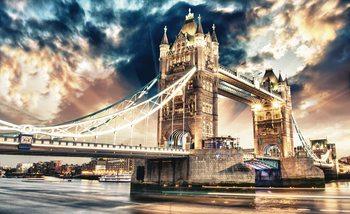 City London Tower Bridge Fototapet