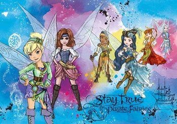 Disney Pirate Fairies Fototapet