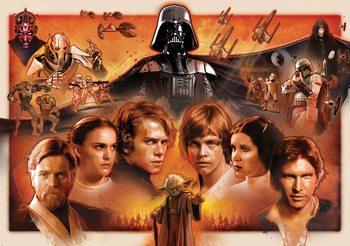 Star Wars Force Awakens Fototapet