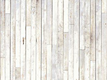 Whitewash Wood Fototapet