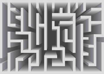 Fototapeta Abstract Pattern Modern