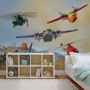 Disney Samoloty Dusty Blade Dipper Cabbie Fototapeta