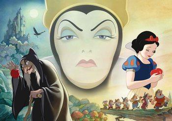 Disney Snow White Dobra Zła Królowa Fototapeta