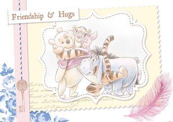 Fototapeta Disney Winnie Pooh, Prasiatko Eeyore Tiger