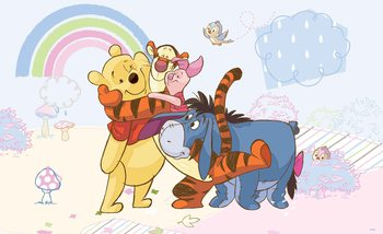 Fototapeta Disney Winnie Pooh Prasiatko Tiger Eeyore
