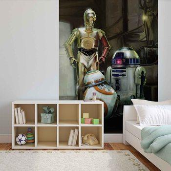 Droidy Gwiezdnych wojen Fototapeta