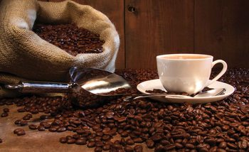 Fototapeta Káva v kaviarni