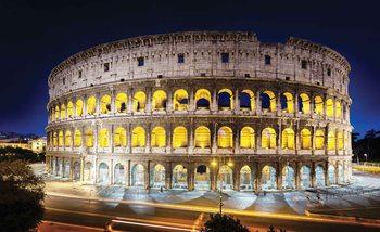 Koloseum w nocy Fototapeta
