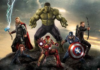 Marvel Avengers Bitwa Fototapeta