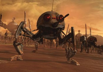 Fototapeta Star Wars DSD1 Spider Droid