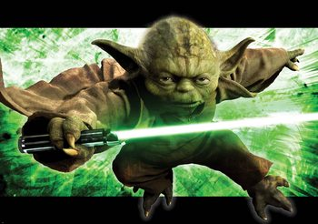 Fototapeta Star Wars Master Yoda